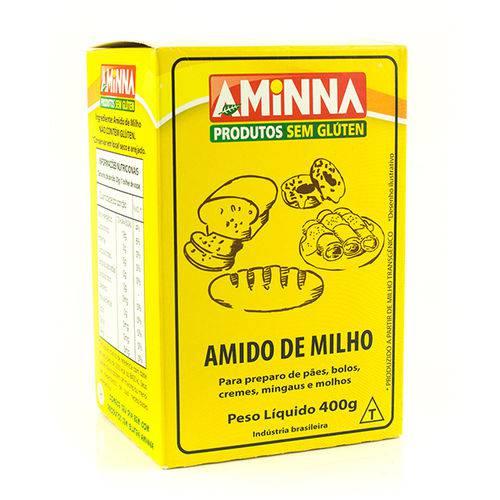Amido de Milho Aminna 400g