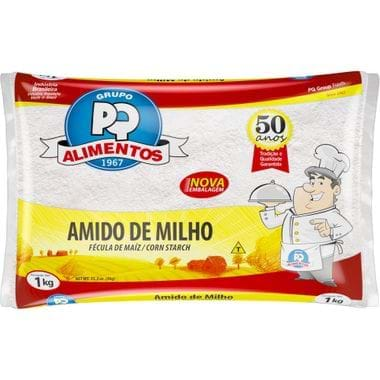 Amido de Milho Pq 1kg