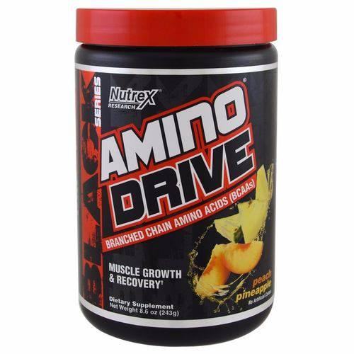 Amino Drive Nutrex 243g Sabor Peach Pineapple