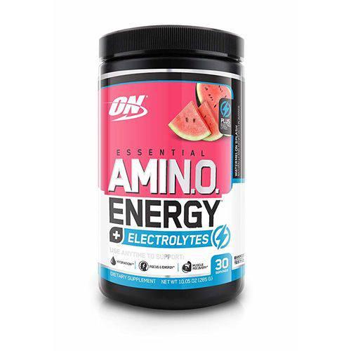 Amino Energy + Electrolytes On Optimum Nutrition 30 Doses - Sabor Melancia