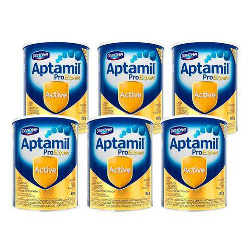 Aptamil Active 400g - Kit 6 Latas