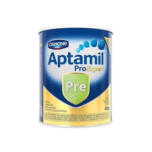 Aptamil Pré 400g Danone - Fórmula Infantil para Lacentes de Baixo Peso