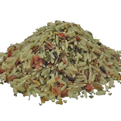 Arroz 6 Grãos com Cenoura e Salsa Sem Glúten (granel 500g)