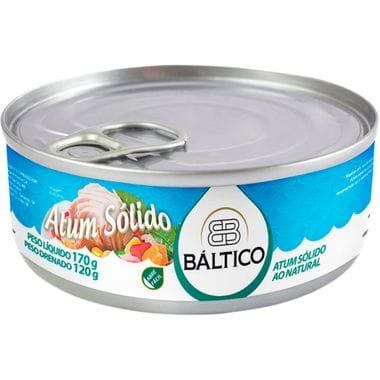 Atum Solido Natural Báltico 170g