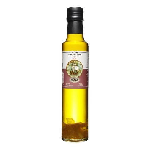 Azeite de Oliva Extra Virgem com Alho Monde (250ml)