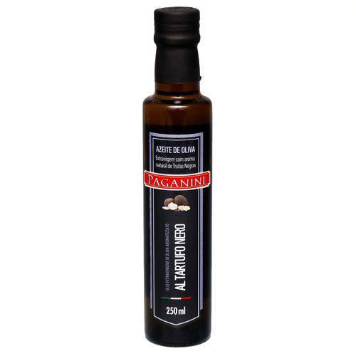 Azeite de Oliva Extra Virgem com Aroma Natural de Trufas Negras Paganini (250ml)