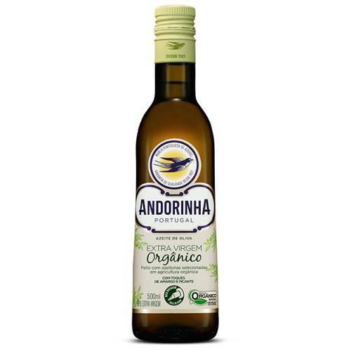 Azeite de Oliva Extra Virgem Organico - 500ml - Andorinha