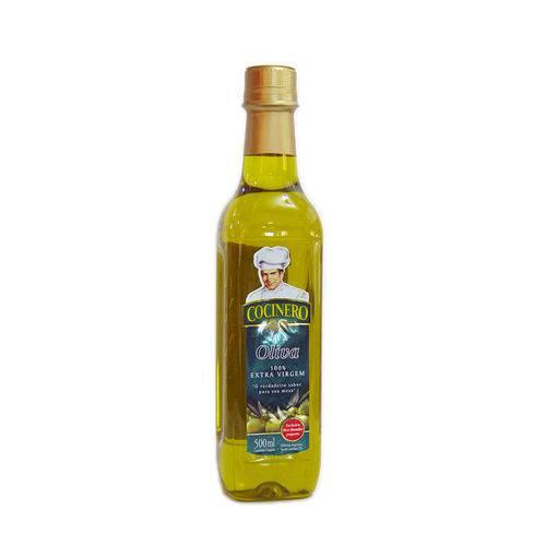 Azeite de Oliva Extra Virgem Pet Cocinero 500 Ml