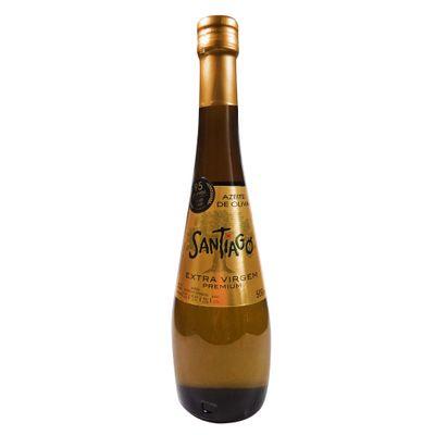 Azeite Extra Virgem Premium (Com Acidez Máxima de 0,2%) 500ml - Santiago