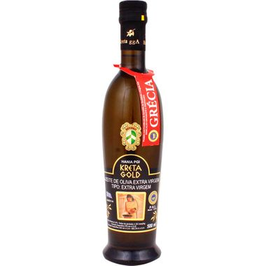 Azeite Grego Extra Virgem Kreta Gold 500ml