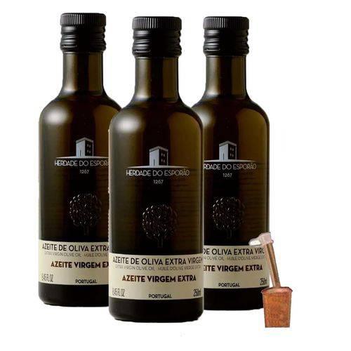 3 Azeite Oliva Extra Virgem 250 Ml Esporão Português + Bico