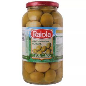 Azeitona Gordal Raiola Pote 500g