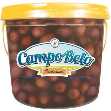 Azeitona Preta Sem Caroço Campo Belo 2kg