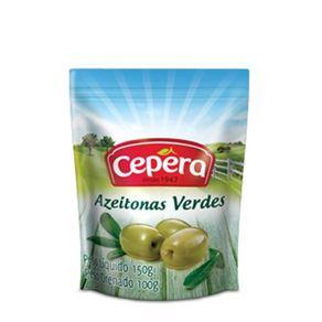 Azeitona Verde Cepera Sachê 100g