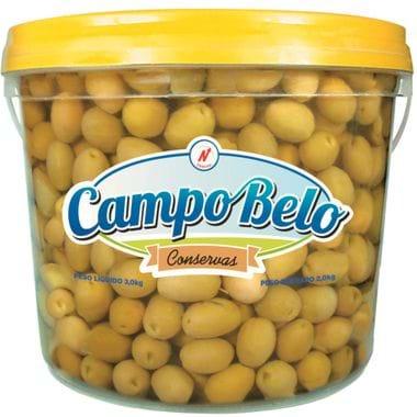 Azeitona Verde com Caroço Campo Belo 2kg