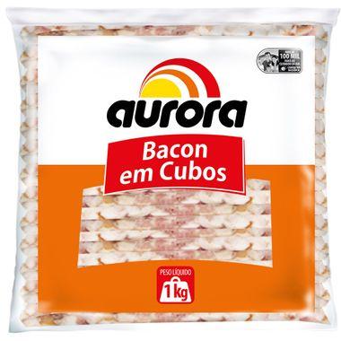 Bacon Aurora em Cubos 1kg