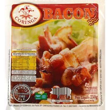 Bacon Defumado Coringa Tablete 250g