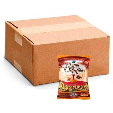 Bala Arcor Butter Toffees Chocolate 600g Cx. C/ 15 Un.