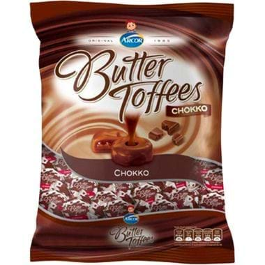 Bala Arcor Butter Toffees Chokko 600g