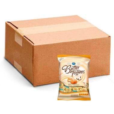 Bala Arcor Butter Toffees Coco 600g Cx. C/ 15 Un.