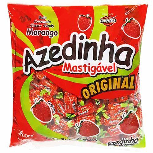 Bala Azedinha Morango 600g Icekiss 1015692