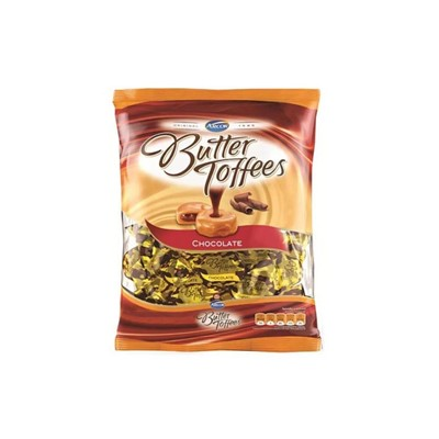 Bala Butter Toffee - Chocolate - Pacote 100g