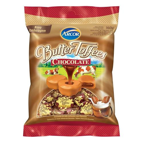 Bala Butter Toffees Chocolate 130g - Arcor
