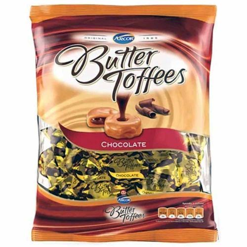 Bala Butter Toffees Chocolate 600g Arcor 1005528