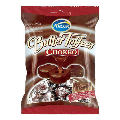 Bala Butter Toffees Chokko 130g - Arcor