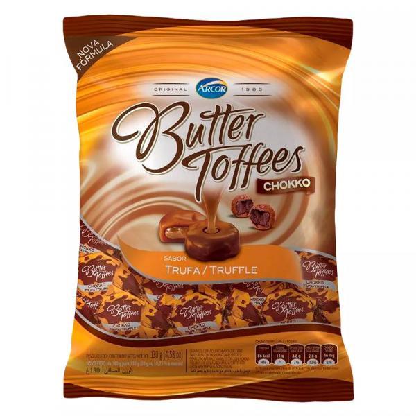 Bala Butter Toffees Chokko Trufa 130g - Arcor