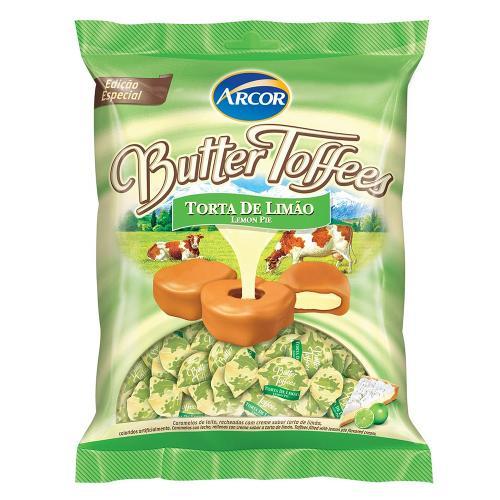 Bala Butter Toffees Limão 600g - Arcor