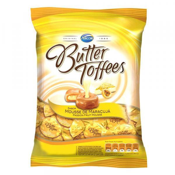 Bala Butter Toffees Maracujá 600g - Arcor