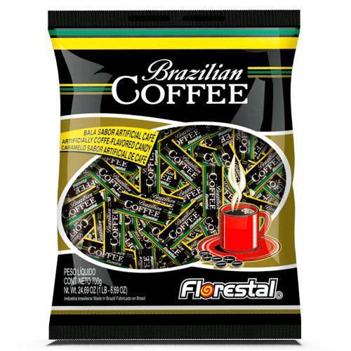 Bala Café Brazilian Coffee 500g - Florestal