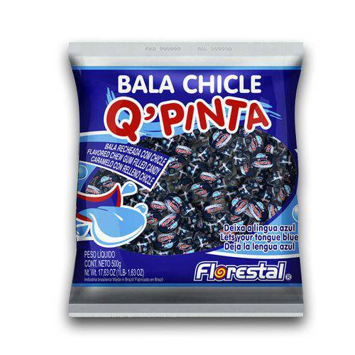 Bala Chiclete Q Pinta Língua