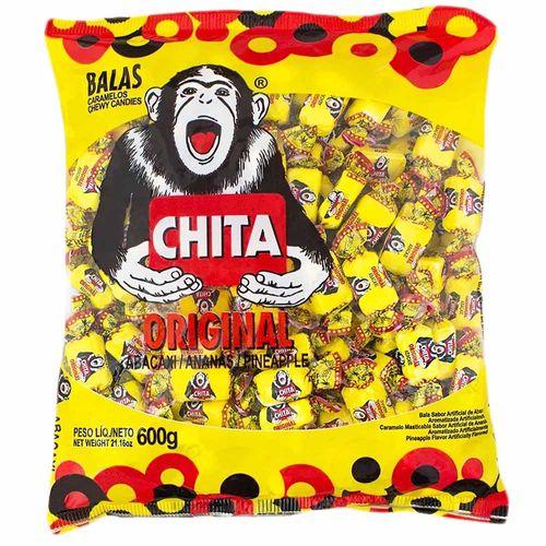 Bala Chita Abacaxi 600g Cory 1010163