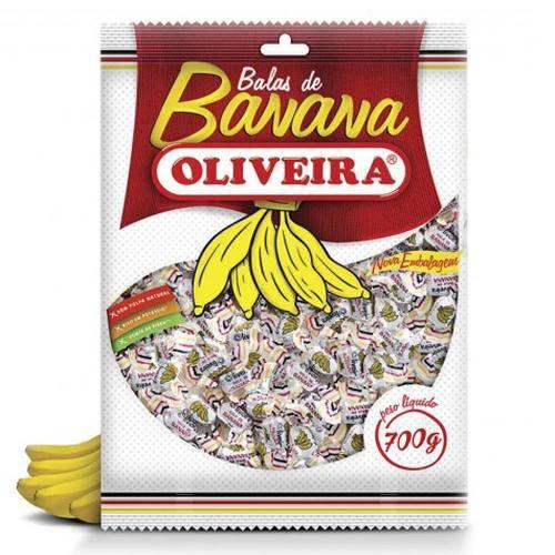 Bala de Banana 80g - Oliveira