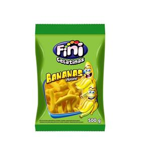 Bala de Gelatina Banana Fini - 500g