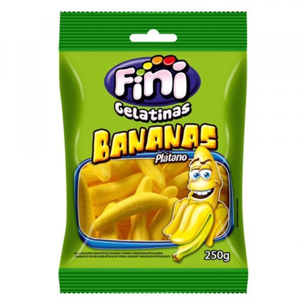Bala de Gelatina Bananas 250g - Fini