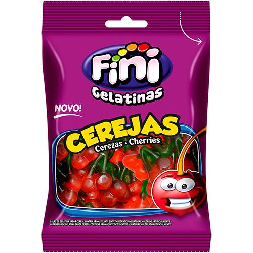 Bala de Gelatina Cerejas 90g - Fini
