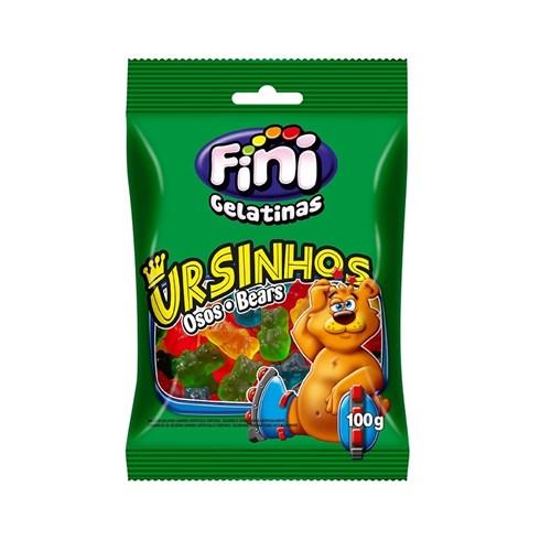 Bala de Gelatina Fini - Ursinhos Brilho - Pacote 100 G