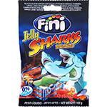 Bala de Gelatina Tubarão 100g - Fini