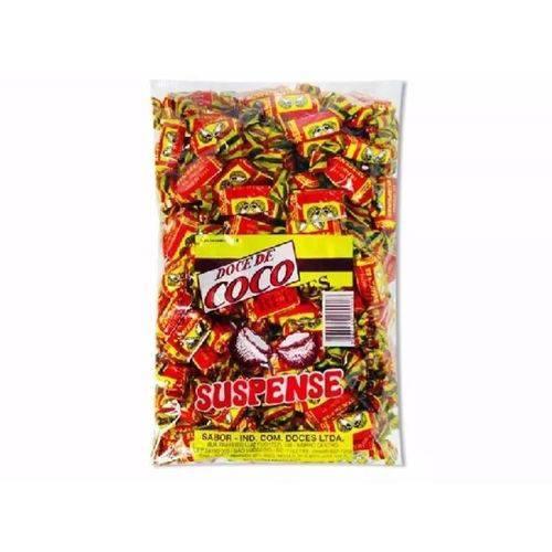 Bala Doce de Coco Suspense 1Kg
