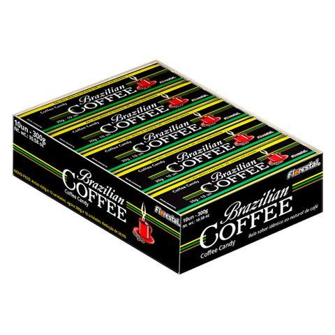 Bala Drops Café Brazilian Coffee C/10 - Florestal