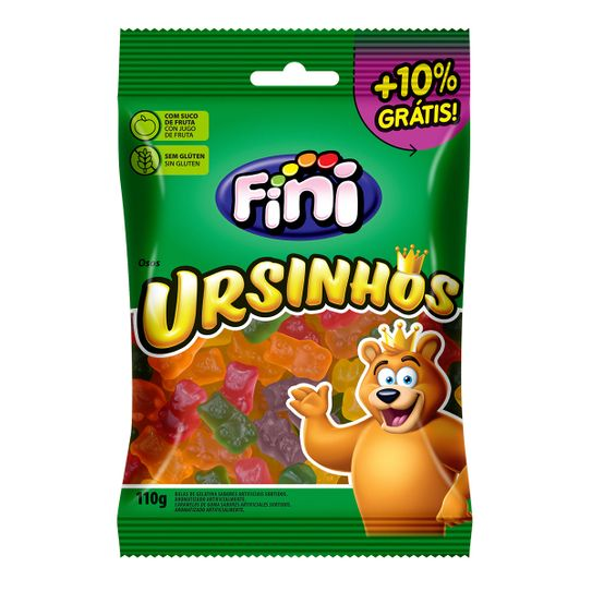 Bala Fini Ursinhos 100g