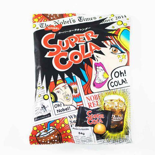 Bala Japonesa Super Cola 84g - Nobel