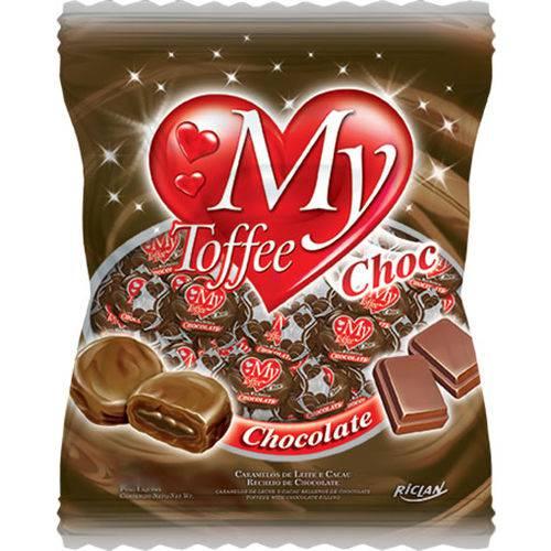 Bala My Toffee Rech 600gr Choc C/choc