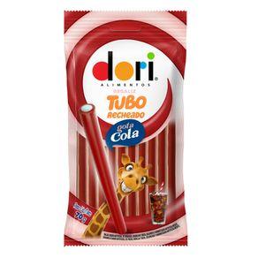 Bala Regaliz Tubo Recheado de Gotas de Cola Dori 70g
