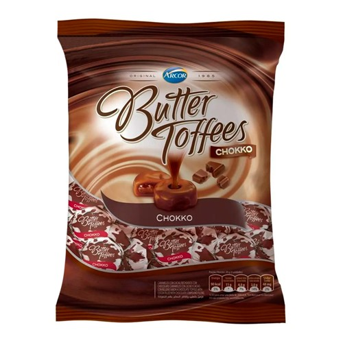 Balas Arcor Butter Toffees Chokko 100g
