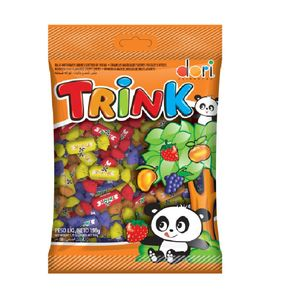 Balas Mastigáveis Sabores Sortidos de Frutas Trink Dori 150g