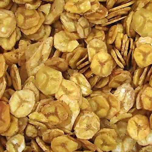 Banana Chips Salgada Frita ( Granel 100g )